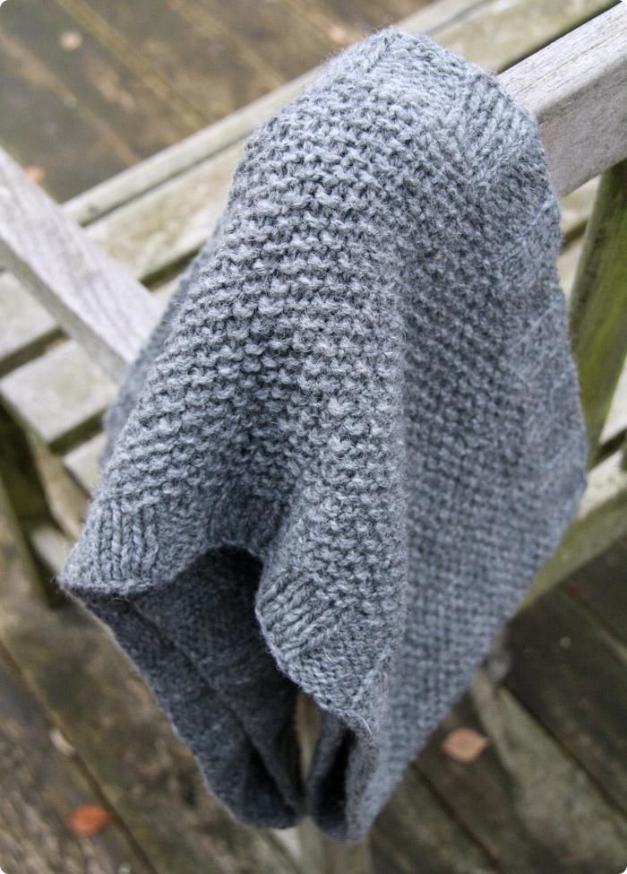strikket tube tørklæde opskrift