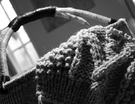 Søndag er strik, sokker og sibirisk kulde