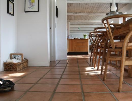 Sol i køkkenet